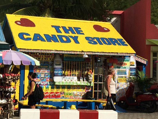 Welcome To The Candy Store Picture Of St Maarten