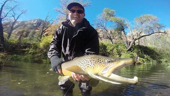 Sedona fly fishing adventures day tours az hours for Arizona fishing guides