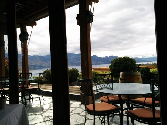 West Kelowna, Καναδάς: View from our table