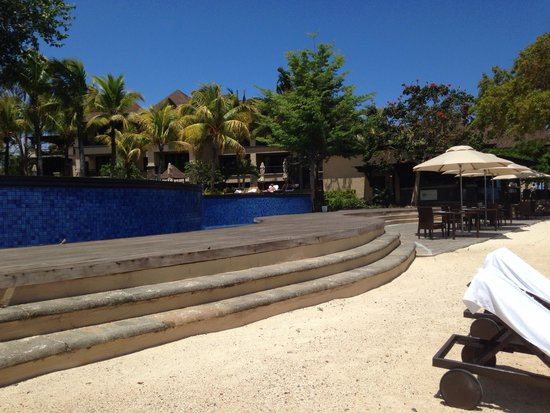 One of the swimming pools picture of the westin turtle for Swimming pool mauritius