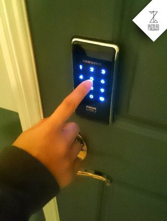 Newly added gadget digital door lock picture of for Escape room gadgets