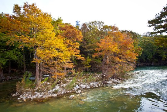 New Braunfels, TX: Guadalupe River in Autumn
