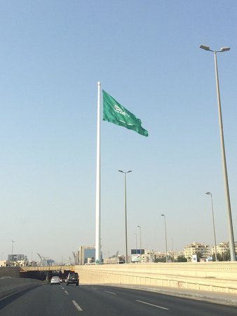 World's Tallest Unsupported Flagpole