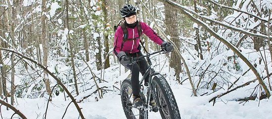 Fat Tire Biking in Traverse City