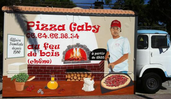 camion pizza gaby picture of pizza gaby le lavandou tripadvisor. Black Bedroom Furniture Sets. Home Design Ideas