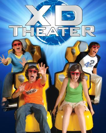 XD Theater 6D Motion Ride
