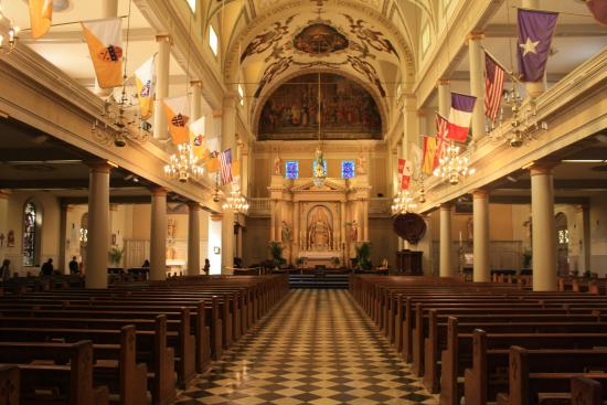 St. Louis Cathedral interior - Picture of St. Louis ...
