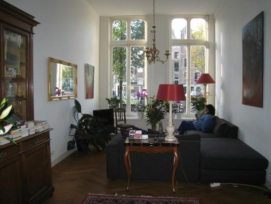 Heren Bed & Breakfast Amsterdam: Main Sitting Room