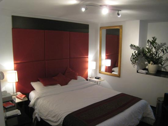 Heren Bed & Breakfast Amsterdam: Our Bedroom