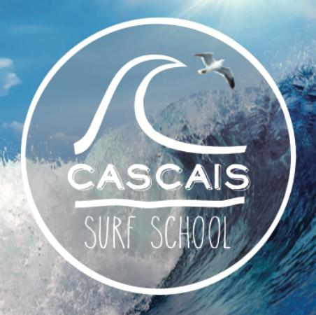 Surf School Logo Cascais Surf School Surf