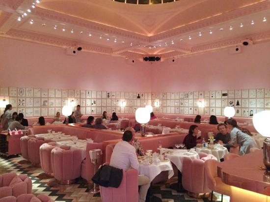 the pink dining room Picture of sketch Parlour London  : sketch parlour from www.tripadvisor.com size 550 x 411 jpeg 35kB