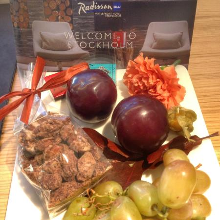 Club Carlson In Room Welcome Gift
