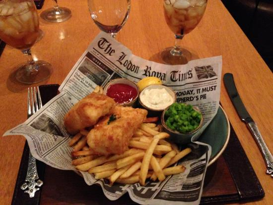fish chips picture of gordon ramsay pub grill las