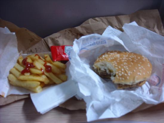 Vile Burger from Burger King - Picture of Burger King ...