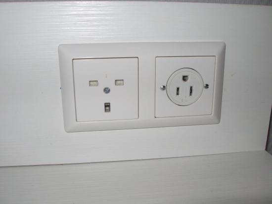 UK and USA power outlets   Picture of Hotel Amsterdam   De Roode Leeuw, Amsterdam   TripAdvisor
