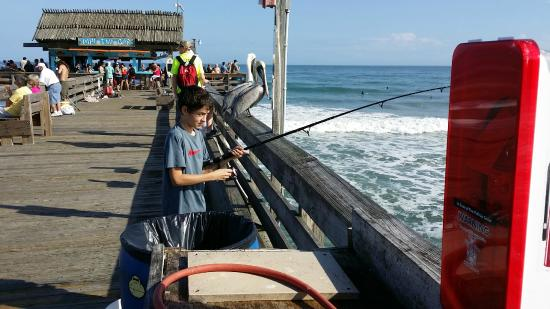 Fishing equipment available for rental no one catches for Rent fishing gear