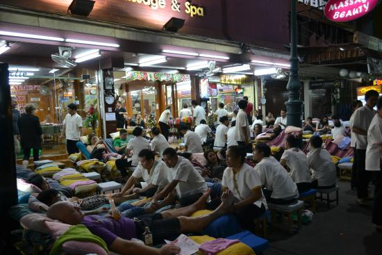 Thai Massage At Koh San Road Picture Of Khao San Road