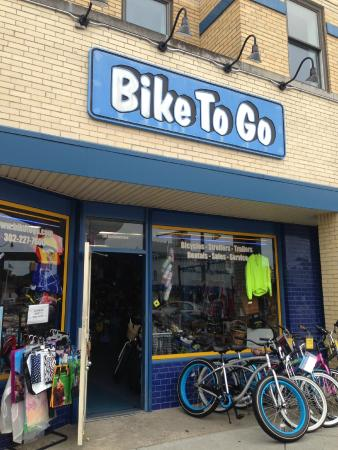Bikes To Go Rehoboth Bike To Go Outside