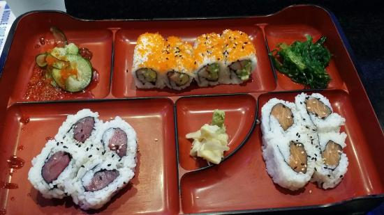 my box lunch on saturday at benton sushi caf next to. Black Bedroom Furniture Sets. Home Design Ideas