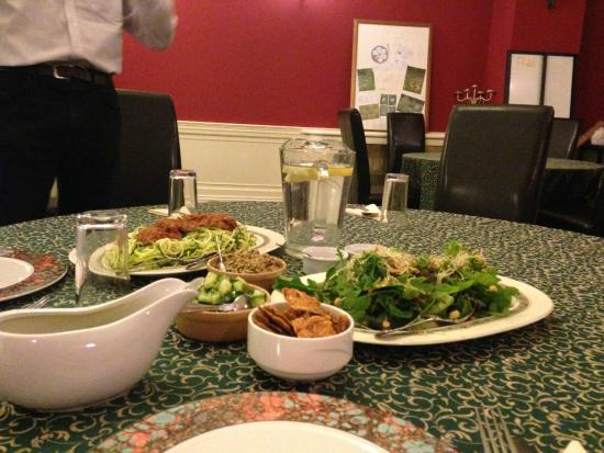 Langford Budville, UK: Breaking the fast with a raw meal