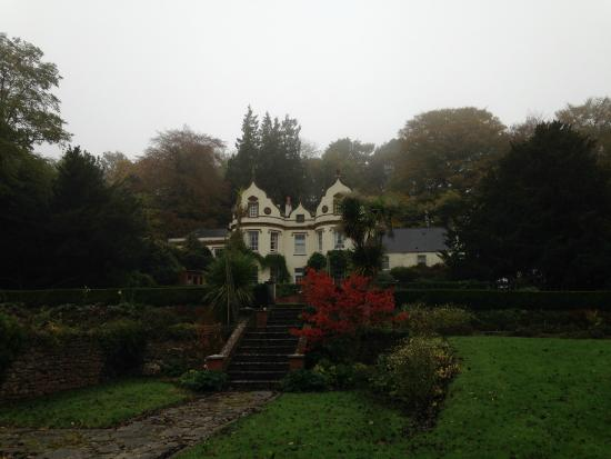 Langford Budville, UK: View from the extensive grounds