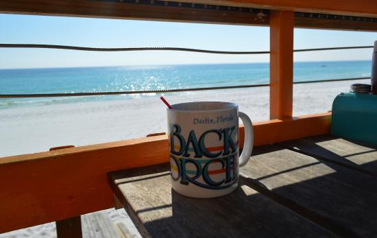 Coffee with a View - Picture of The Back Porch, Destin ...