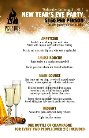 7 Pecados Kitchen & Grill: Our First New Year's PARTY!
