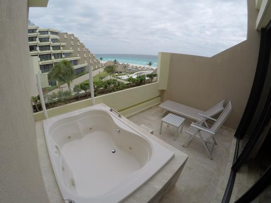 Hotel Room With Pool Balcony Cancun