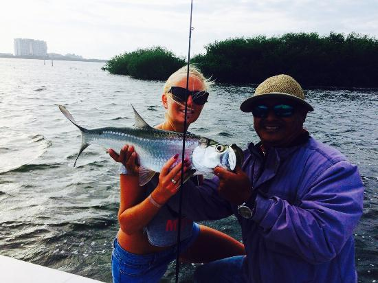 Mackerel Picture Of Cancun Tarpon Fishing Light Tackle