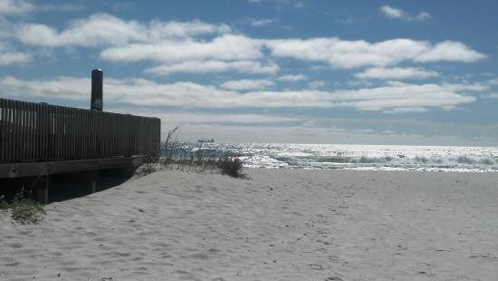 Beach Across The Street From Campground Picture Of Fort Pickens Campground Pensacola Beach