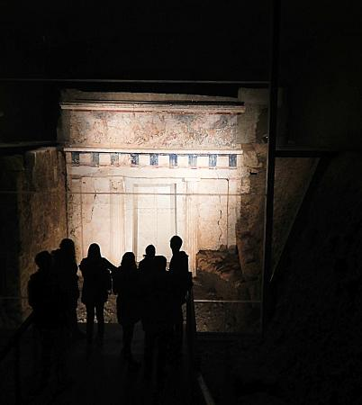 The Great Tumulus - Picture of Museum of the Royal Tombs ...