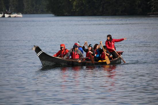 T'ashii Paddle School - Cultural Canoe Tours - Private Tour