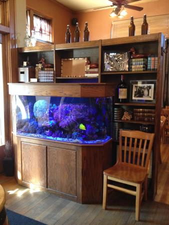 Picture of woody 39 s library restaurant carmel for Hamilton fish library