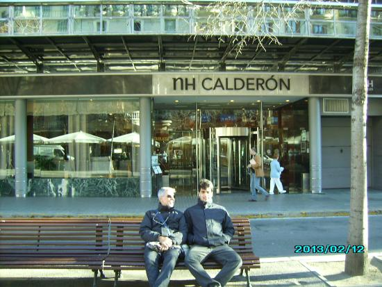So called terrace at nh calderon barcelona picture of nh - Restaurant umo barcelona ...