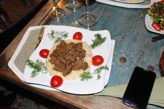 Delicious price is about 40trl picture of seten for Anatolian cuisine