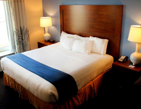 Holiday Inn Express & Suites Terre Haute: King Bed