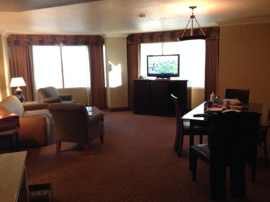 stratosphere tower suite