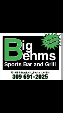 Big behms sports bar and grill