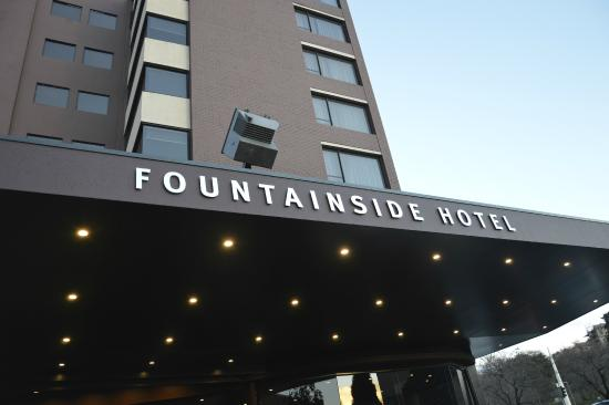 view from my room picture of fountainside hotel hobart. Black Bedroom Furniture Sets. Home Design Ideas
