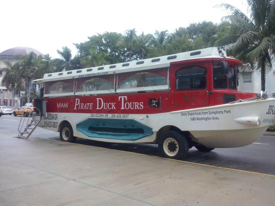 Miami Duck Tours Miami Pirate Duck Tours Duck