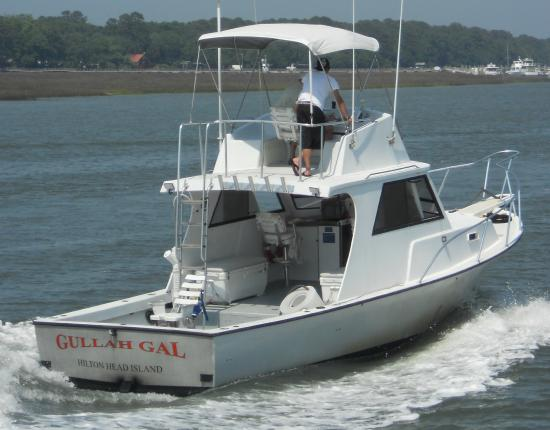Things to do near captain hook party fishing boat in for Hilton head fishing party boat