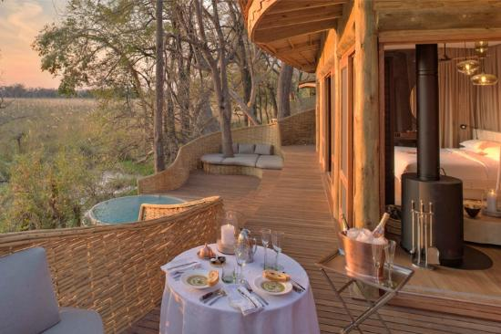 ‪andBeyond Sandibe Okavango Safari Lodge‬