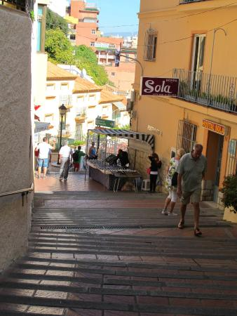 Plaza on main street - Picture of Calle San Miguel, Torremolinos - TripAdvisor