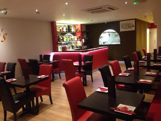 First time visit with a friend who has been before for Cuisine of india wigston