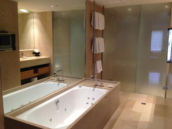 Spa Bath With Tv On Bathroom Wall Picture Of Royce Hotel Melbourne Tripadvisor