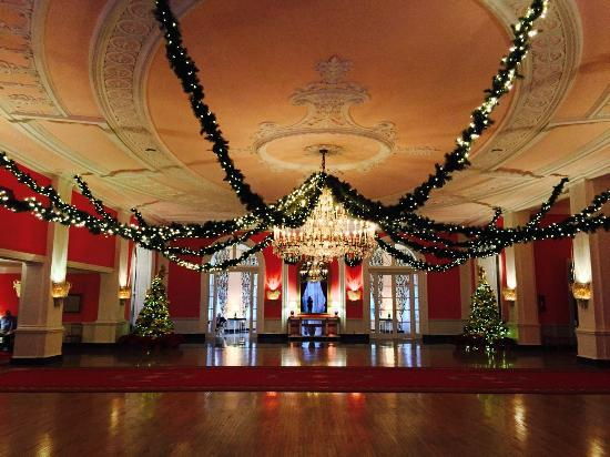 Greenbrier Resort Christmas Decorations Picture Of The