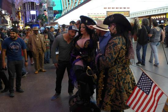 People On The Street Picture Of Fremont Street