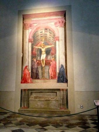 masaccio s holy trinity Masaccio: the holy trinity grunewald: the isenheim altarpiece the holy trinity by masaccio was done approximately 1428 it is a superb example of masaccio's use of space and perspective.