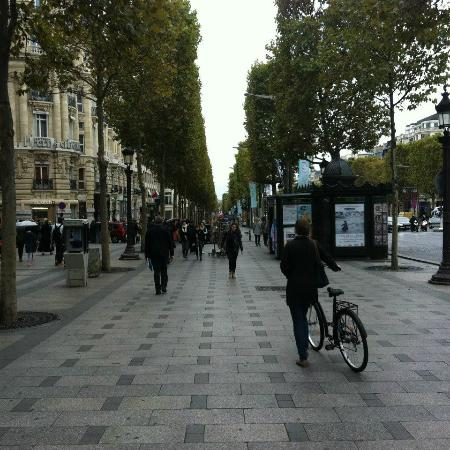 Avenida Champs Elysees Paris Champs-elysees a Avenida