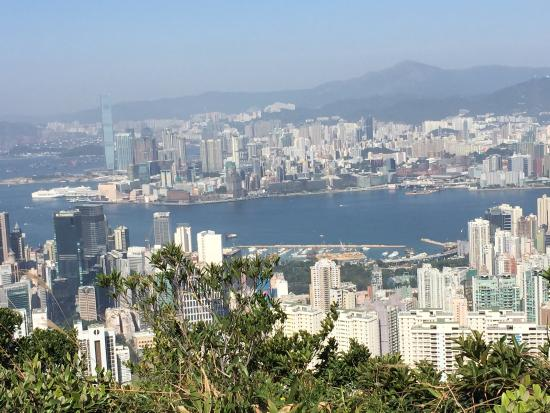 The view at jardine 39 s lookout picture of wilson trail for Jardin hong kong
